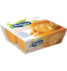 L'emballage du produit Belsoy dessert au caramel crémeux