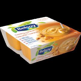 Belsoy dessert au caramel crémeux