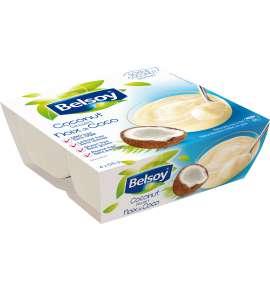Belsoy Coconut Dessert