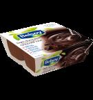 L'emballage du produit Belsoy dessert fondant au chocolat noir