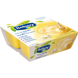 Product packaging of Belsoy Dessert French Vanilla