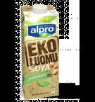 Produktpakning av Alpro Soya Naturell Økologisk