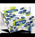 produktemballage til Alpro Blåbær