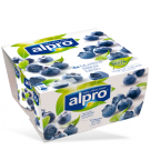 Produktpakning av Alpro Blåbær