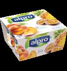 Alpro Broskev & Ananas - Maracuja (4x125g)