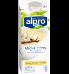 produktemballage til Alpro Mild & Creamy Vanille
