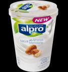 Tuotepakkaus Alpro Natural Manteleilla