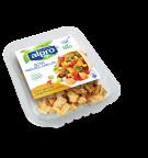 Product verpakking van Alpro soya Reepjes licht gekruid