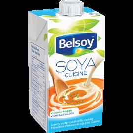 L'emballage du produit Belsoy Soya Cuisine