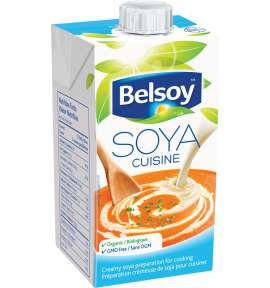 plant based cream variation | small | soya cuisine | belsoy
