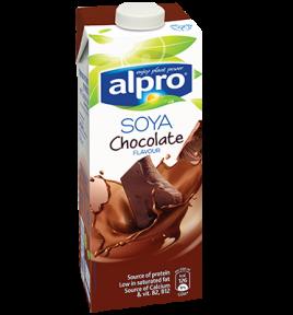 אריזת מוצר של אלפרו סויה שוקו