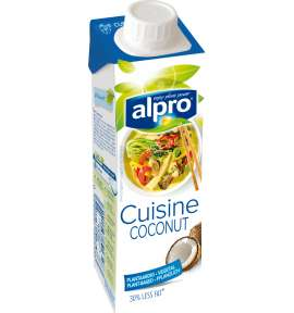 Rein pflanzliche sahnealternative soja sahnealternative for Alpro coconut cuisine