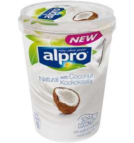 Alpro Natural Kookoksella