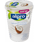 produktemballage til Alpro Naturel med kokos