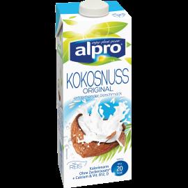 Produkt Verpackug von Kokosnussdrink Original