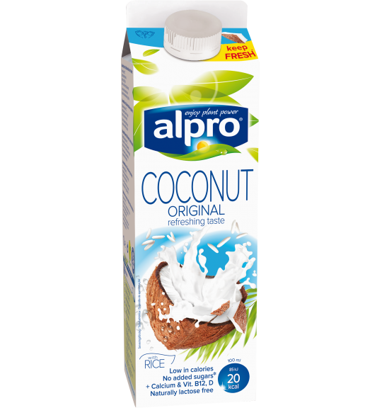 Produktförpackning av Alpro Coconut Original Fresh