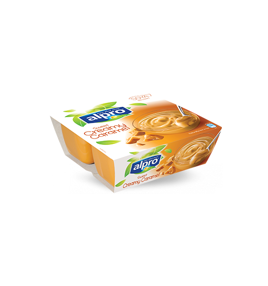 Product packaging of Alpro Sweet Creamy Caramel Dessert