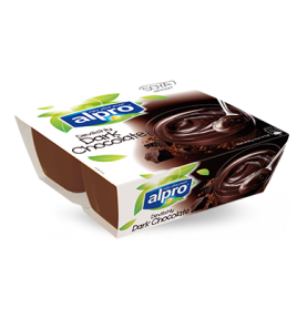 Επιδόρπιο Σόγιας ALPRO Μαύρη Σοκολάτα