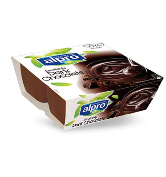 alpro choklad dessert