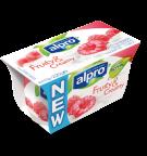 Product verpakking van Alpro soya Fruity & Creamy Framboos