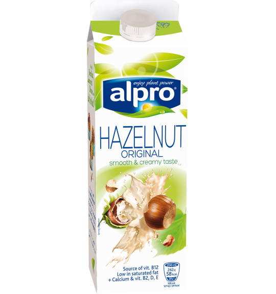 Product packaging of Alpro Hazelnut Original Chilled