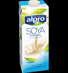 אריזת מוצר של אלפרו משקה סויה