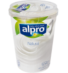 produktemballage til Alpro Naturel