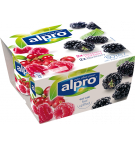 Product packaging of Alpro Raspberry-Cranberry & Blackberry