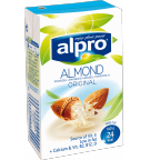Product packaging of Alpro Almond Original
