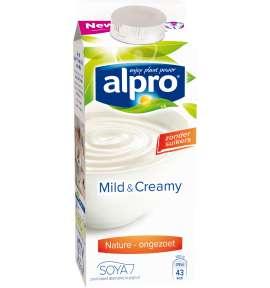 Mild & Creamy Naturel Ongezoet