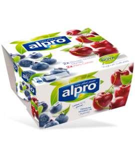 Alpro Alternativă la Iaurt cu Afine și Cireșe