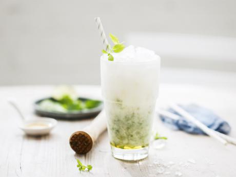 Virgin Coconut Mojito