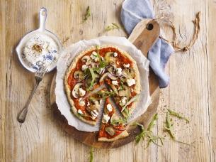 Quinoa-Pizza Italiana