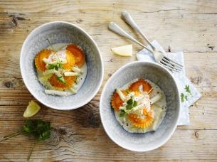 Zomerse ravioli met asperges