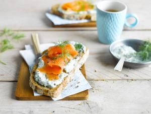 Toast aux herbes
