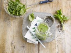 Lo smoothie dal fascino verde
