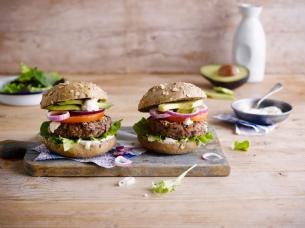 Homemade Veggie Black Bean Burgers