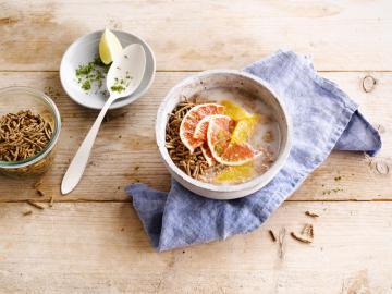 Orangen & Limetten Müsli