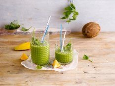 Alpro Coconut & Spinach Smoothie