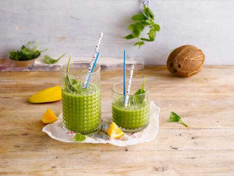 Great Green Kokosnuss Smoothie