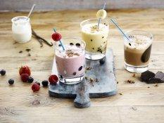 Färgglada shakes