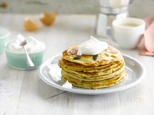 Amazin Raisin Pancakes