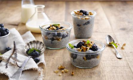Almond Chia pudding