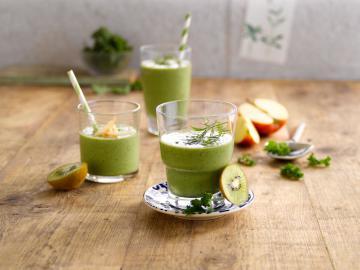 Frullato verde di mele