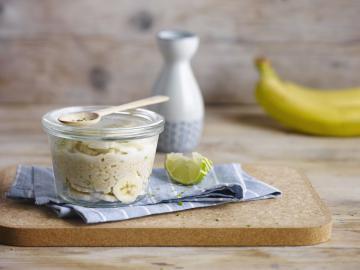 Banana Lime Oat Porridge