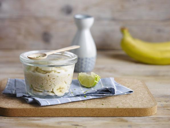 Banana Lime Oat Porridge