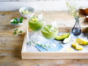The green coco loco smoothie