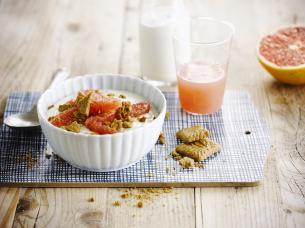 Speculaas-grapefruit ontbijt