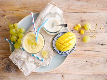 Gelb-steht-dir-super Smoothie