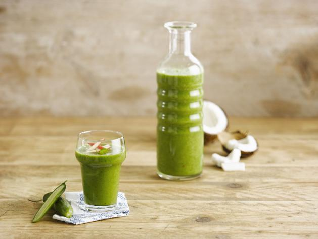 Coconut green juice